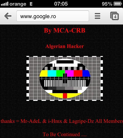 google.ro - defaced