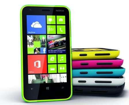 Nokia Lumia 620 - culori