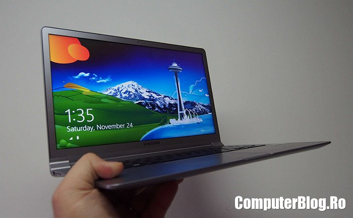 Samsung Seria 9 ultrabook