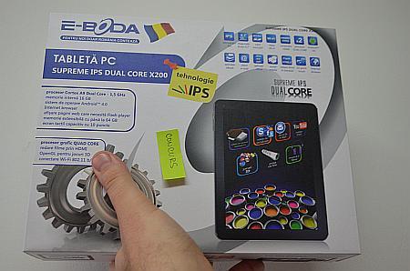 tableta E-Boda X200