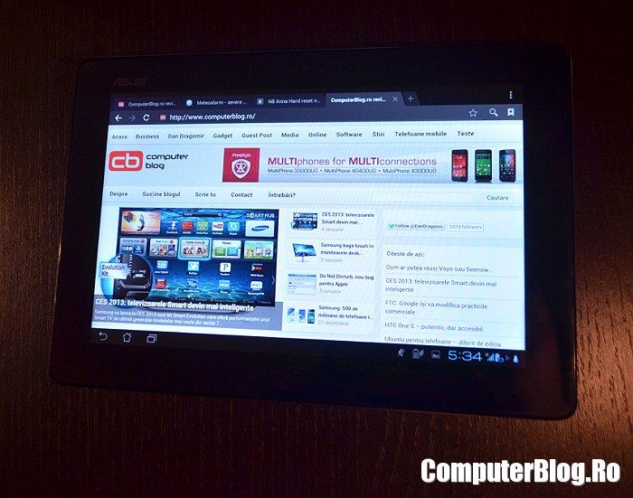 Asus Padfone 2 - tableta
