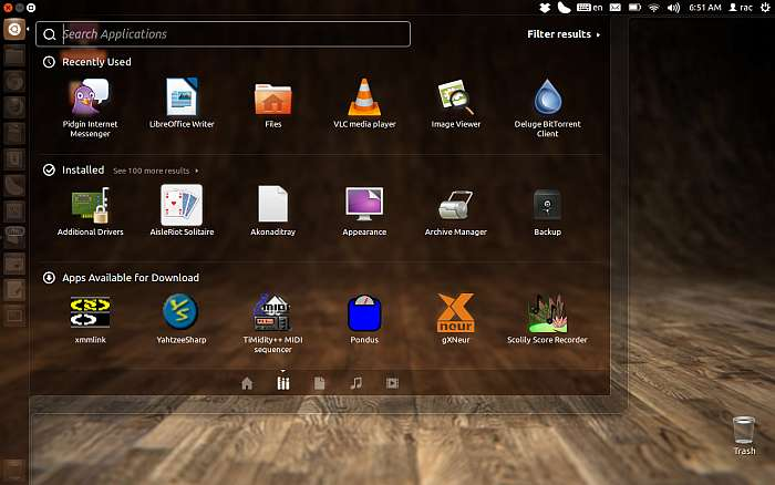 Ubuntu 12 dashboard