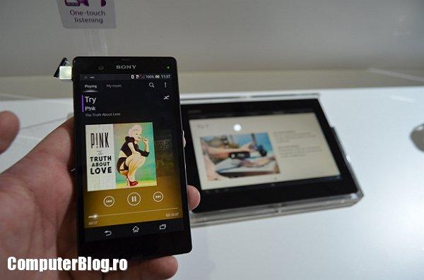 Sony XPeria Z + tablet
