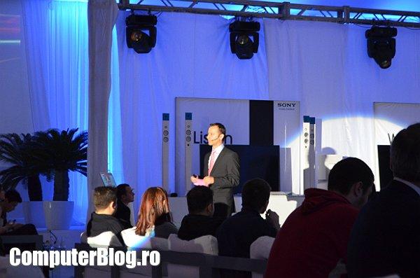 Sony - lansare in Romania