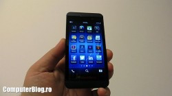 Blackberry Z10 - meniu