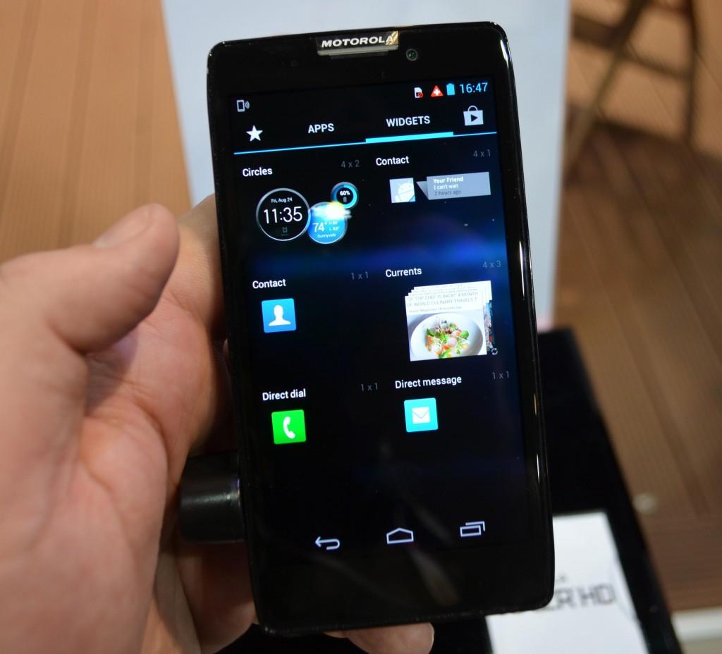 Motorola Razr HD - hands on