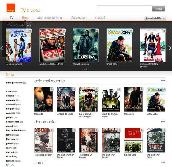 Orange TV&video