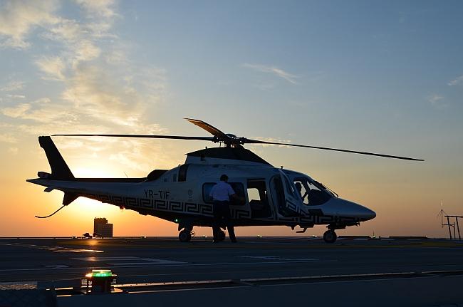 lansarea sgs4 - elicopter