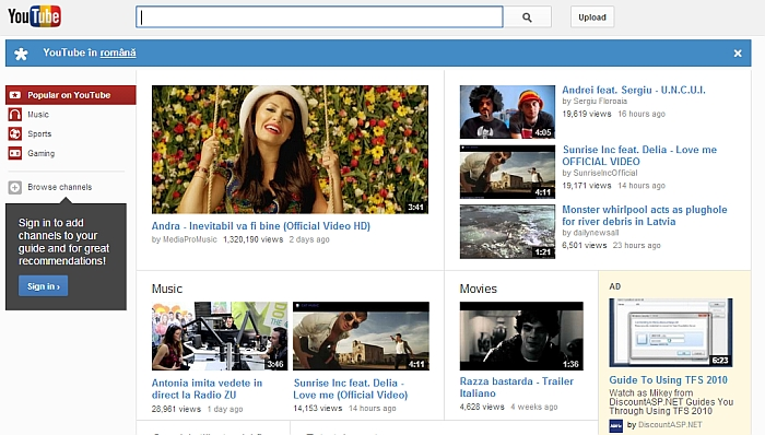 youtube.ro