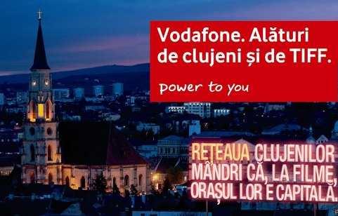 Vodafone sprijina TIFF