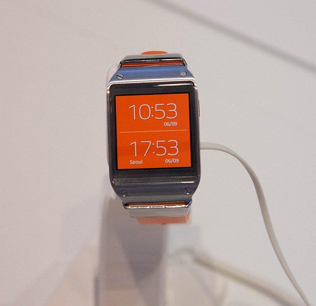 Samsung Galaxy Gear @ IFA Berlin