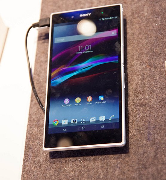 Xperia Z Ultra - hands on