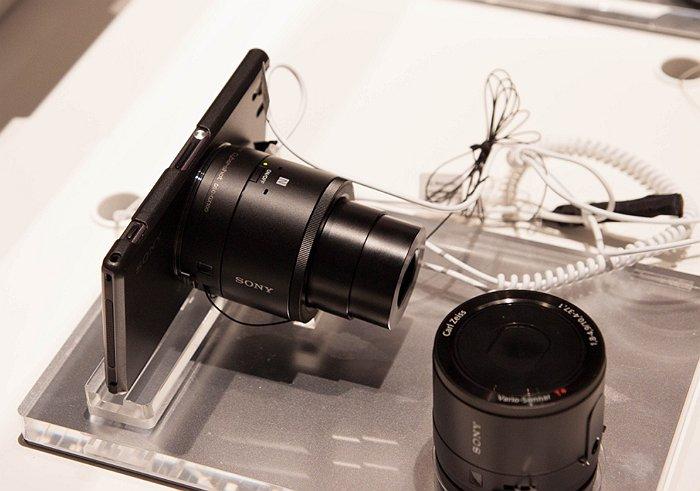 Xperia Z 1 + camera atasata