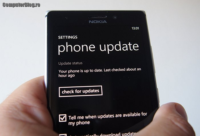 Nokia Lumia 925 - Windows Phone 8 update