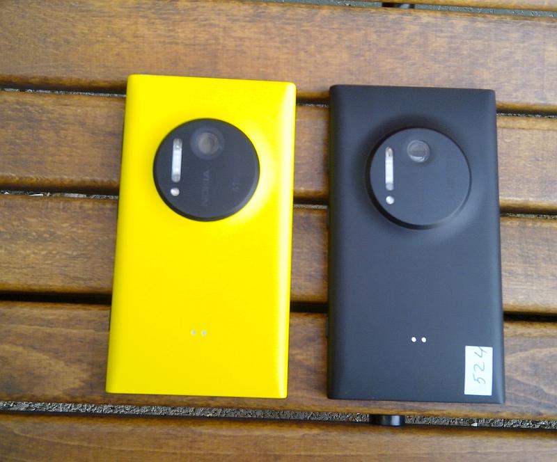 Lumia 1020 - galben versus negru