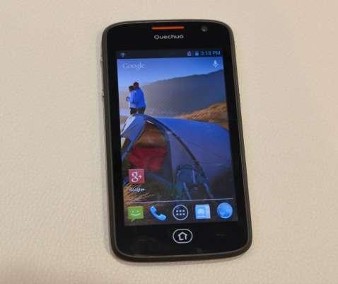 Decathlon: smartphone Quenchua