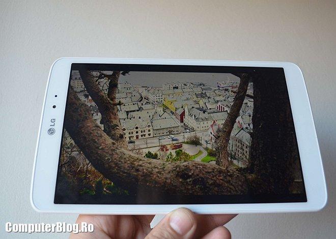 "LG G Pad display 8.3 "" 1920x1200 pixeli IPS"