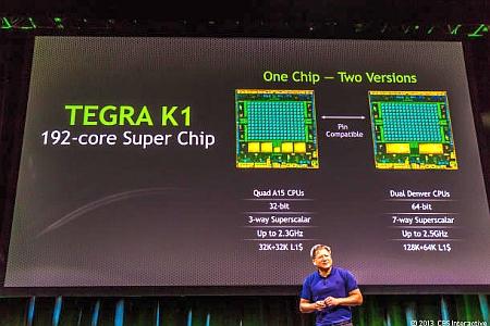 Nvidia Tegra K1 - lansarea