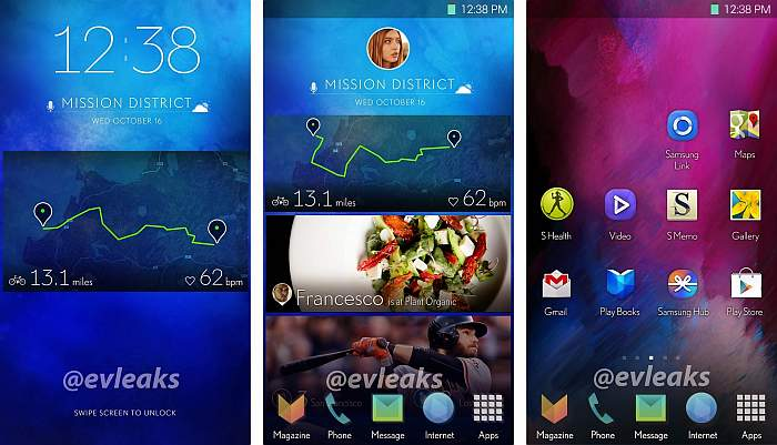 galaxy S5 new ui