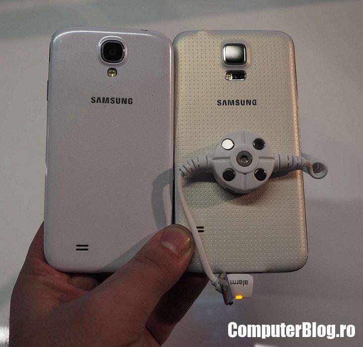 Galaxy S4 versus Galaxy S5