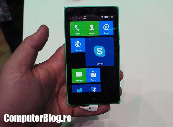Nokia X - interfata similara Windows Phone