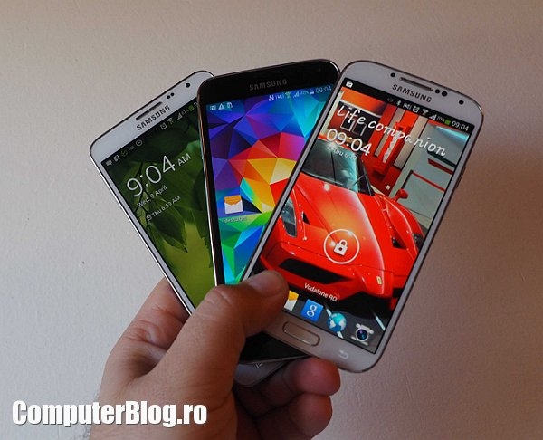 Galaxy S5 - versus S4 - Note 3