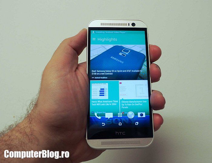 HTC Onea m8 hands on