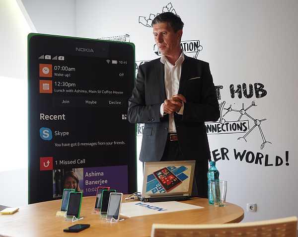 Rossen Petkov lanseaza Nokia X in Romania