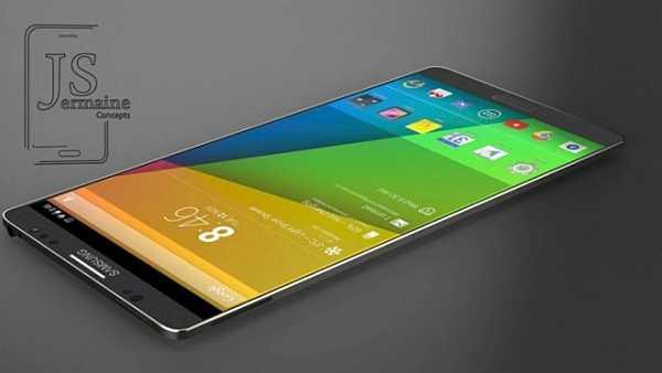 Galaxy Note 4 - concept de design