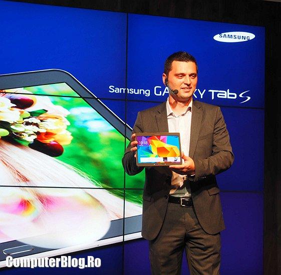 Lansarea Galaxy Tab S in Romania
