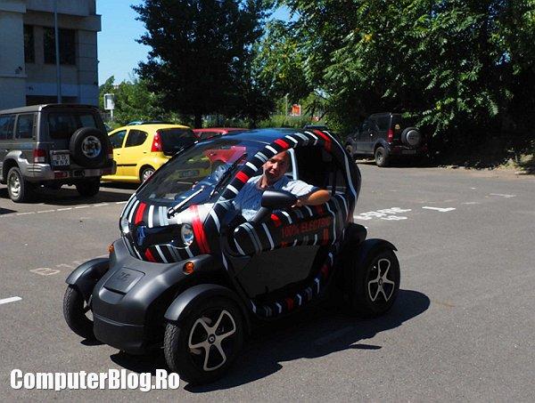 experienta Renault Twizy