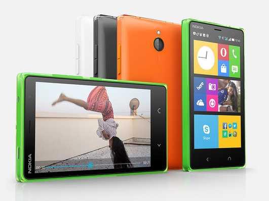 Imagine cu caracter informativ, bazata pe Nokia X