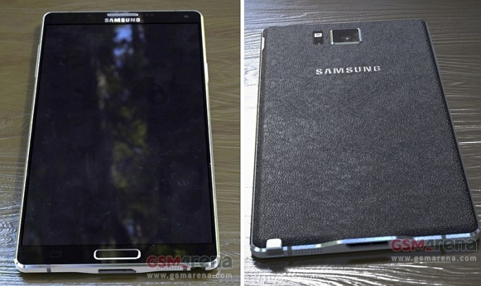 Samsung Galaxy Note 4 via GSMArena