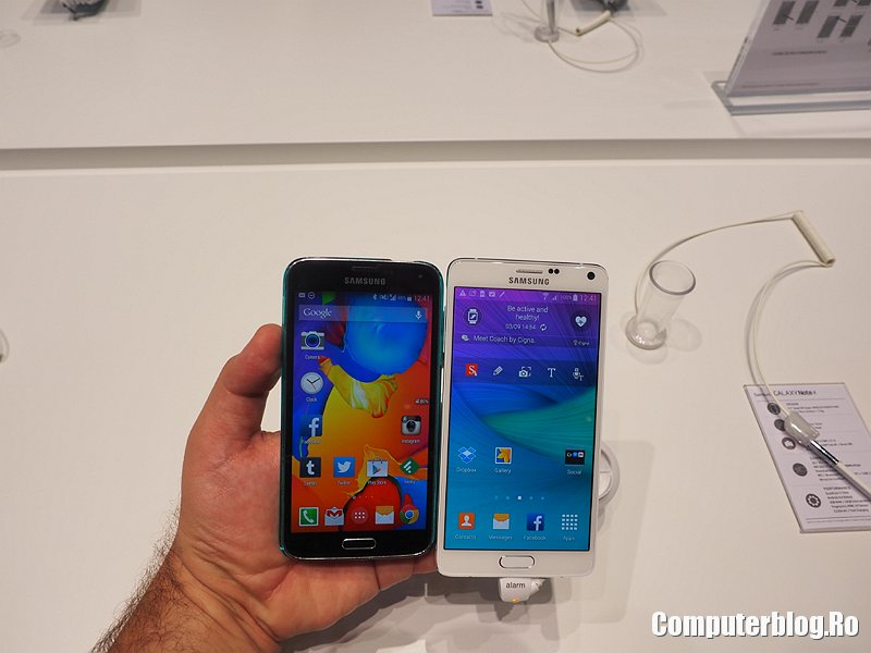 Galaxy Note 4 vs Galaxy S5