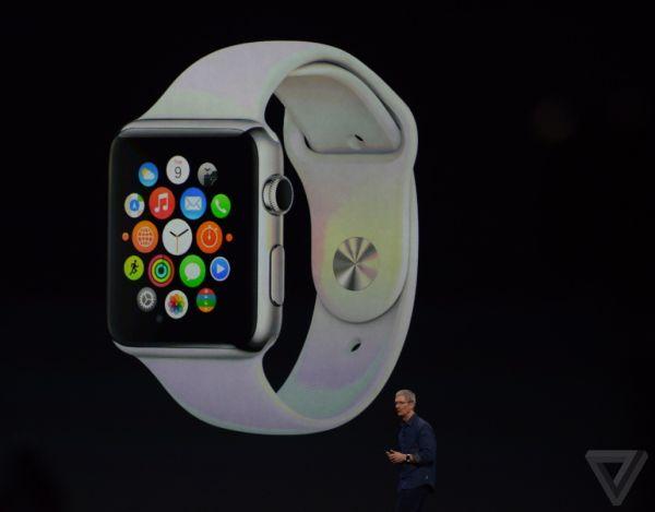 Apple Watch via The Verge