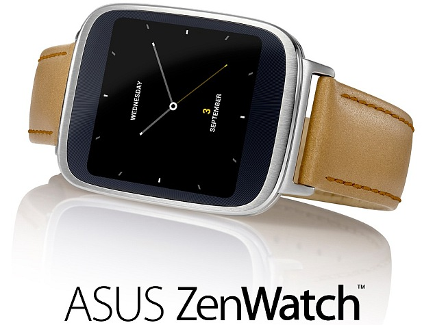 Imagine oficiala cu Asus Zenwatch