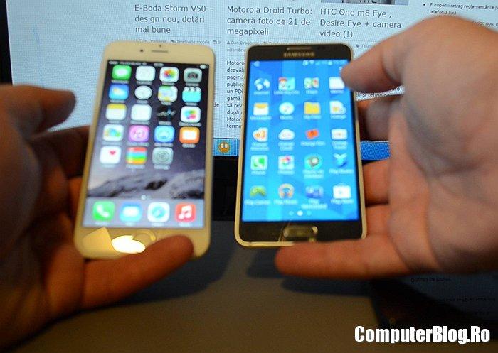 iPhone 6 versus Galaxy Alpha
