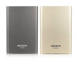 Adata HC500-titanium&golden