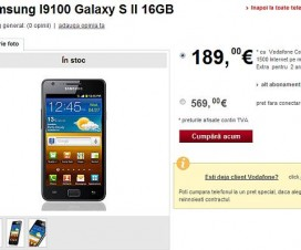 Samsung Galaxy S2 Vodafone