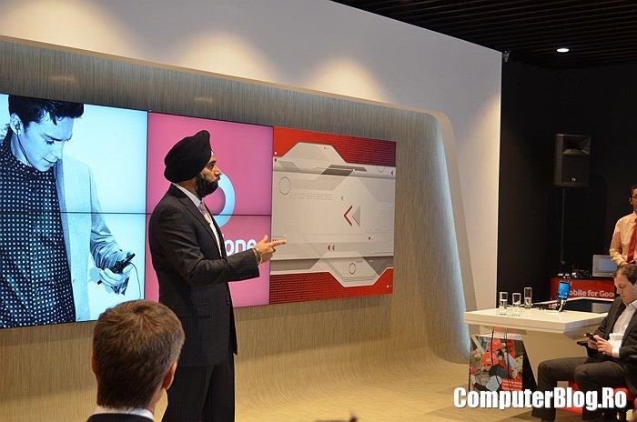 Ravinder Takkar  - CEO Vodafone Romania