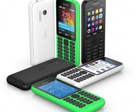 Nokia 215 si Nokia 215 Dual SIM