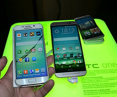 Galaxy S6 Edge versus HTC One M9