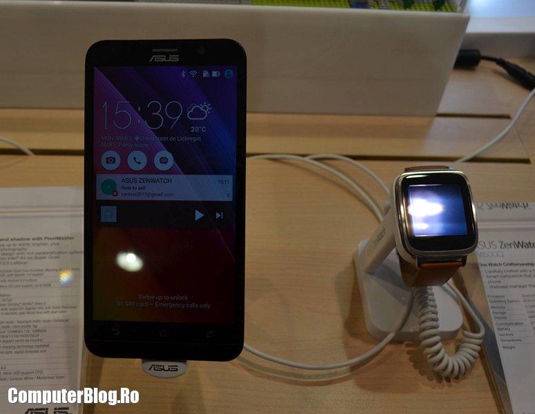 Asus Zenfone 2 - Zenwatch