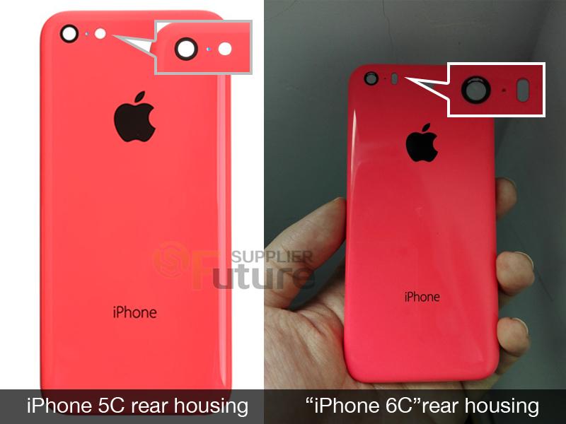 iPhone 6C - din spate