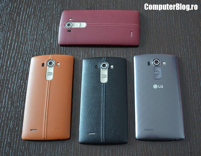 LG G4 - hands on in Romania