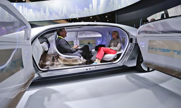 Concept Mercedes - mașina fără șofer