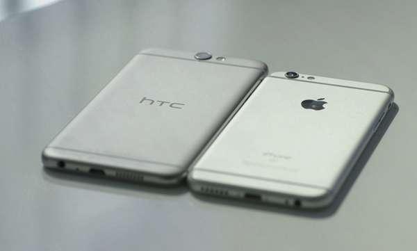 htc one a9 versus iphone 6