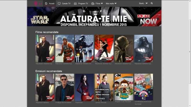 AXN Now Telekom TV