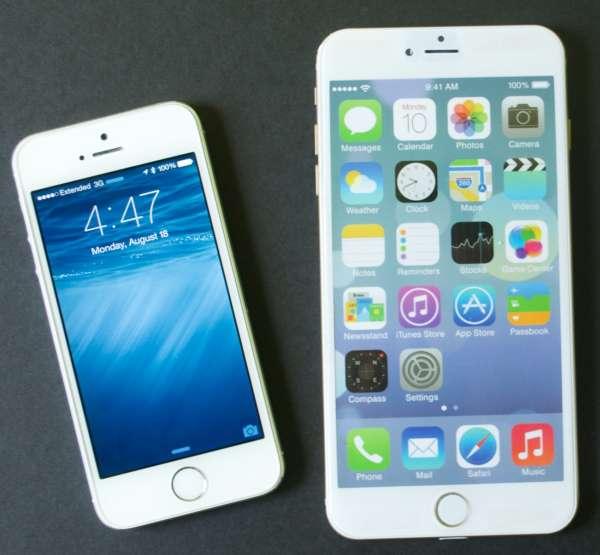 iphone 4 inch vs iphone 5.5