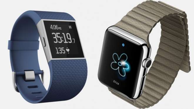 fitbit vs applewatch